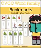 CVCC Word Family Bookmarks