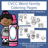 CVCC Word Family Coloring Pages