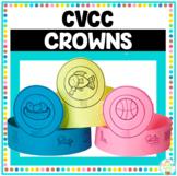 CVCC Word Family Crowns Activity