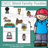 CVCC Word Family Puzzles