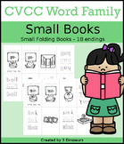 CVCC Word Family Small Book