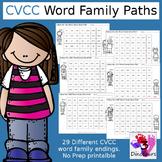 CVCC Word Family Word Paths