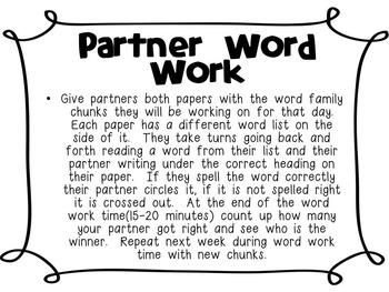 CVCC Word Work Packet