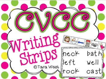 CVCC Writing Strips