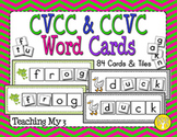 CVCC and CCVC Word Cards with Pictures