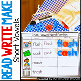 CVCC and CCVCC Short Vowel Word Families: Read, Write, Make