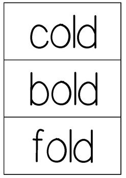 CVCC word flashcards