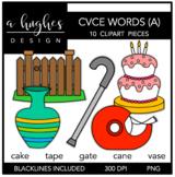 CVCE A Words Clipart {A Hughes Design}