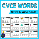 CVCE Activities First Grade: Long Vowels With Silent E Words