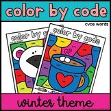 CVCE Activity | Color by Code | Winter Theme