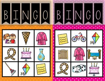 CVCE Bingo--A Game for Your K-1 Class
