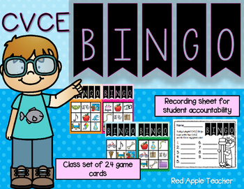 CVCE Bingo--A Game for Your K-1 Class