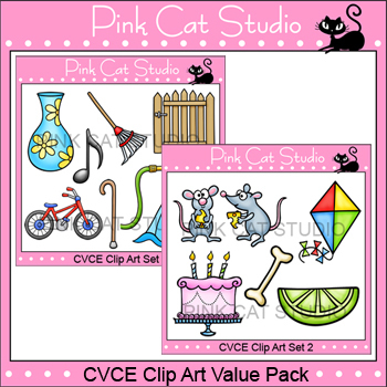 Clip Art CVCE Value Pack - Personal or Commercial Use