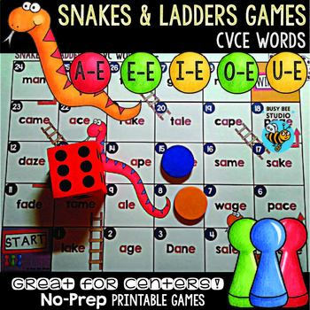 CVCE Game: Snakes and Ladders