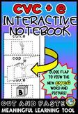 LONG VOWELS ACTIVITIES: CVC E INTERACTIVE NOTEBOOK: MAGIC E PRACTICE