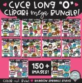 CVCE Long O Clipart MEGA Set