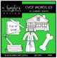 CVCE O Words Clipart {A Hughes Design}