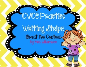 CVCE Practice Writing Strips
