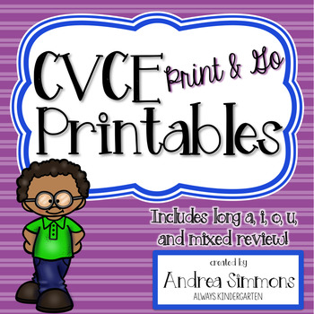 CVCE Printables