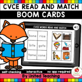 CVCE Read and Match (Boom Cards) (Distance Learning)