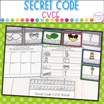 CVCE- Secret Code Freebie