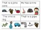 CVCE Sentences Read & Clip Cards Bundle