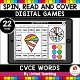 CVCE Spin Read and Cover Digital Games ( Google Slides™ )