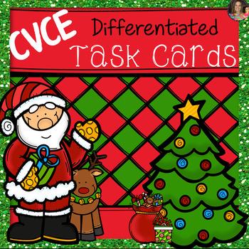 CVCE Task Cards~ Christmas Edition