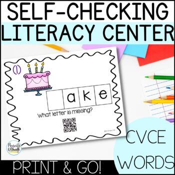 CVCE Task Cards With QR Code Answers!