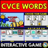 CVCE WORDS INTERACTIVE GAME (MATCHING CVCE WORDS WITH PICT