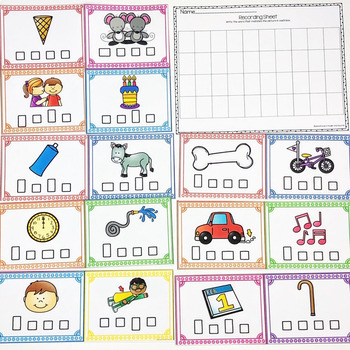 CVCE Word Boxes Task Cards