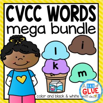 CVCC Word Building Activity Mega {Growing} Bundle