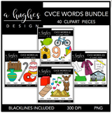 CVCE Word Clipart Bundle {A Hughes Design}