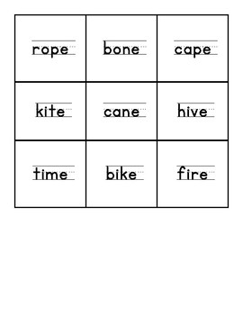 CVCE Word Recognition
