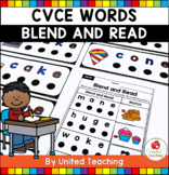 CVCE Words Blend and Read
