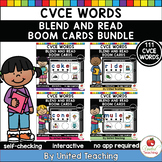 CVCE Words Blend and Read Boom Cards Bundle