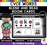 CVCE Words Blend and Read (Long A) (Distance Learning)