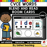 CVCE Words Blend and Read (Long I) (Distance Learning)