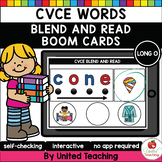 CVCE Words Blend and Read (Long O) (Distance Learning)