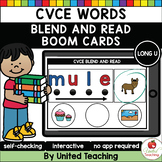 CVCE Words Blend and Read (Long U) (Distance Learning)