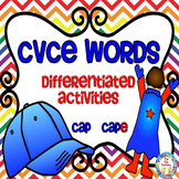 #friday13th CVCE Words ~ Differentiated Activities ~ CCSS Style