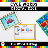 CVCE Words Digital Dice