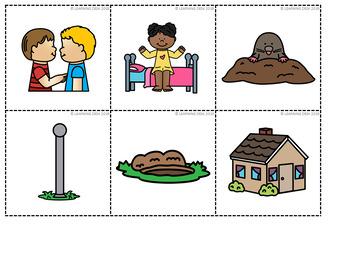 CVCE Words Pocket Chart Activities First Grade