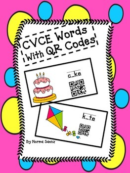 CVCE Words with QR Codes