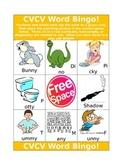 CVCV Word BINGO!