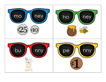 CVCV Word Sunglasses