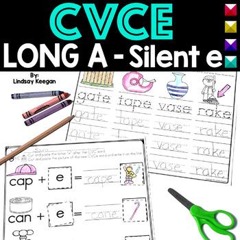 CVCe - Long A Activities