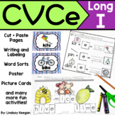 CVCe Worksheets - Long I - Silent E Activities