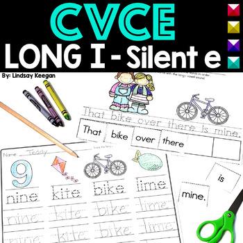 CVCe - Long I Activities