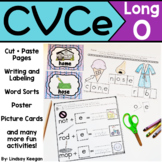 CVCe Worksheets - Long O - Silent E Activities
